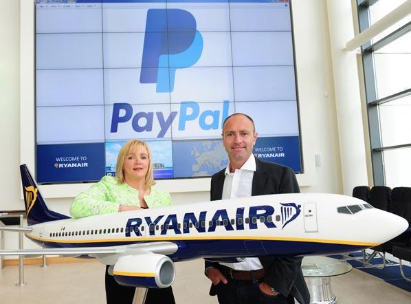 Ryanair-Paypal